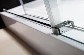 dreamline enigma x fully frameless sliding shower door and slimline 30 by 60