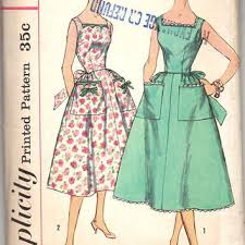 Retro Dress Patterns Simple Best Vintage Dress Patterns 48s Products On Wanelo
