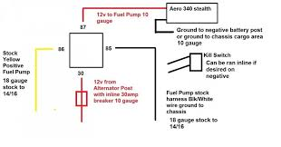 honda accord fuel pump wiring diagram schematics and wiring fuel pump killswitch honda tech