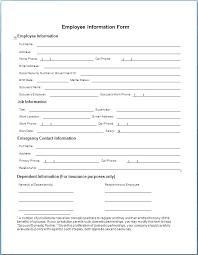 Patient Registration Form Basic Information Template New