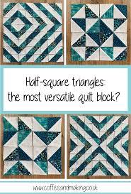 Half Square Triangle Quilt Designs Half Square Triangles The Most Versatile Quilt Block