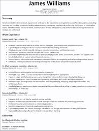 Nursing Resume Template Word Resume Templates Design For Job