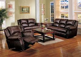 brown leather sofa sets. Delighful Leather Contemporary Great Reclining Leather Sofa Sets Recliner Sale With Regard To  Set Brown