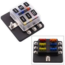 12v fuse box ebay 200 amp outdoor breaker box lowes at Breaker Fuse Box Holder