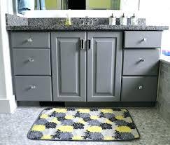 grey and yellow bathroom bathroom yellow grey and yellow chevron bathroom decor