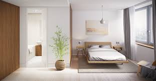 Minimal bedroom design