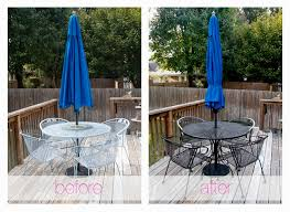 lovely painting metal patio furniture ideas gallery