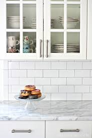 gallery modest white subway tile backsplash subway tile backsplash installation nest of posies