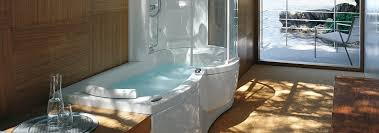 whirlpool tub with shower unit. j-twin whirlpool bath tub with shower unit 1