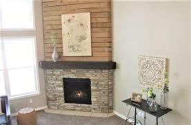 fireplace wood pallet upper surround