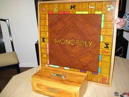 Wooden Monopoly Board Game World of Monopoly 19