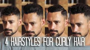 4 Mens Hairstyles For Curly Or Wavy Hair How To Style Your Hair