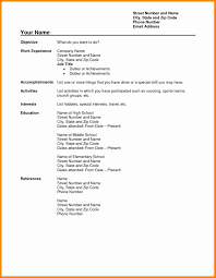 Official Resume Formats 14 Cv Free Download Pdf Theorynpractice
