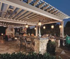 gorgeous outdoor kitchen lighting fixtures on house design ideas with missionshaker outdoor hanging lights wayfair tahoe 3 light lantern