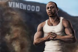 Rockstar Games GTA San Andreas Carl Johnson remastered edition illustration  Los Angeles Carl Johnson gta san andrea… | Carl johnson, San andreas,  Rockstar games gta