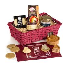 farmhouse lunch her basket with pork pie stilton cheddar and pate