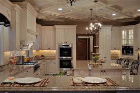Elegant Long Island Kitchen Design For A Large Scale Room