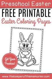 Click here for the pdf to download from last year. Free Printable Easter Bunny Color Pages The Keeper Of The Memories