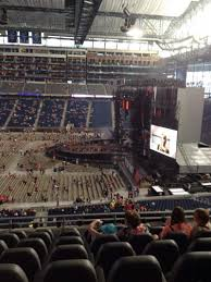 Ford Field Section 232 Row 8 Seat 19 Taylor Swift Tour The