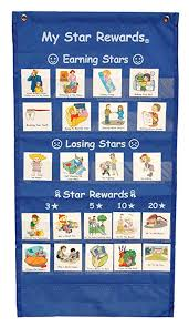 Reward Chart Toys R Us My Star Rewards Pocket Chart Set Blue