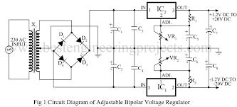 vr600 voltage regulator diagram schematic all about repair and vr voltage regulator diagram schematic adjustable bipolar voltage regulator circuit using lm337 best circuit diagram