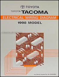 1994 2004 toyota tacoma and truck 2wd 4 cyl automatic 1998 toyota tacoma pickup wiring diagram manual original
