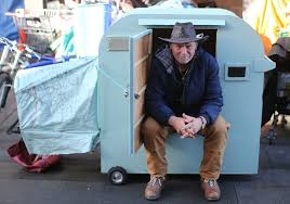 Small Picture Tiny homes on wheels could shelter homeless builder of prototype says