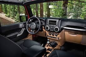 jeep wrangler 2018 interior ergonomic durability