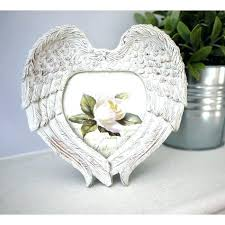 angel picture frame angel wing picture frame angel wings picture frame silver angel wing picture frame