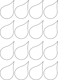 Water Drop Coloring Page Raindrop Coloring Page Printable With Inside Itgod Me At