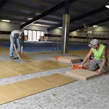 best wood and concrete deck covering