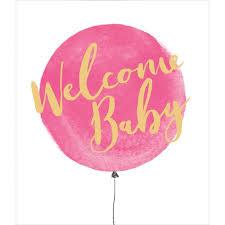 Baby Girl Congratulations Card Ocado