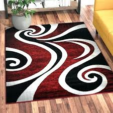 red and white striped area rug chevron black furniture stunning