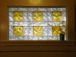 tree mural glass block