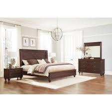 Charming BFG Kingston Espresso Wood 6 Piece King Bedroom Se.