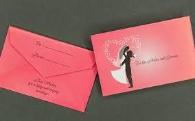 Envelope Wedding Information Packaging Mini Wedding Gift Card Envelope