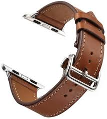 leather band strap for apple watch belt for hermes watch band ksa souq