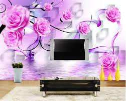 New Products Cheap 3 D Behang In Mican Store