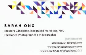 30 Facts About Graduate Student Business Card Example That