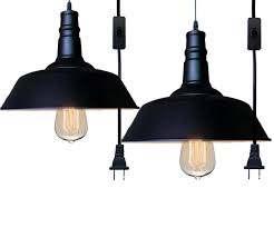 hanging multiple pendant lights find lamp ations plug light industrial vintage fixture ceiling mounted simple glass