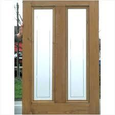 sidelight door panels curtains for side door panels a front door glass panel replacement doors etched