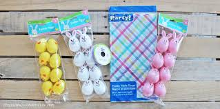 diy easter egg garland decoration a quick easy easter craft made with items from