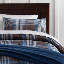 ryder plaid deluxe comforter set with