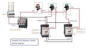 forward reverse motor control diagram schema wiring diagram you Single Phase AC Motor Wiring Diagram at Wiring Diagram For Forward Reverse Single Phase Motor