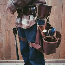 item projectleather carpenters tool belt