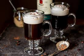 Take 4 cubes of frozen coffee and place in a blender, add 1.5 oz whiskey and blend until foamy. Irish Coffee Recipe Saving Room For Dessert