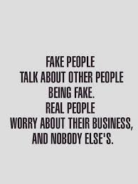 Being Fake Quotes