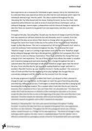 hsc english essay year hsc english standard thinkswap into the world educating rita and finding forrester essay