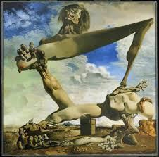 orwell on dali magazine salvador dali s soft construction boiled beans premonition of civil war 1936 philadelphia museum of art