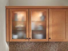 frosted glass cabinet doors. Frosted Glass Inserts From Waypoint Living Spaces Shown In Style 410 Maple Spice · Cabinet DoorsGlass Doors B